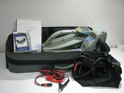 Radiodetection Locator Set Model RD4000 with RD4000T10 Transmitter
