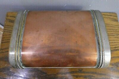 Antique Copper And Brass Carriage Foot Warmer