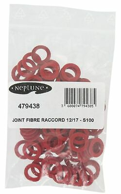 Joint fibre Neptune Pochette de 100 Pour filetage 12x17mm Diamètre int. 9mm