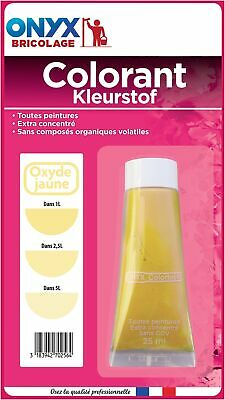 Colorant universel 25 ml Onyx - Oxyde jaune