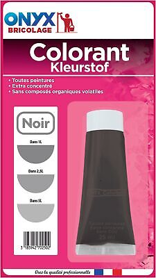 Colorant universel 25 ml Onyx - Noir