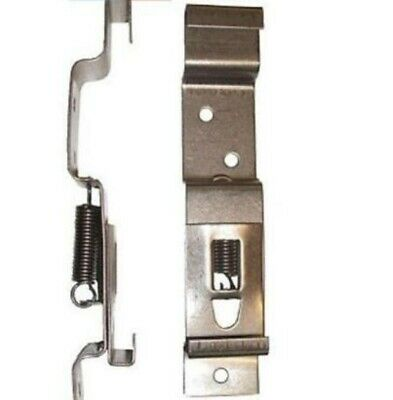 Trailer Number Plate Clips Holder Spring Loaded Stainless Steel one pair