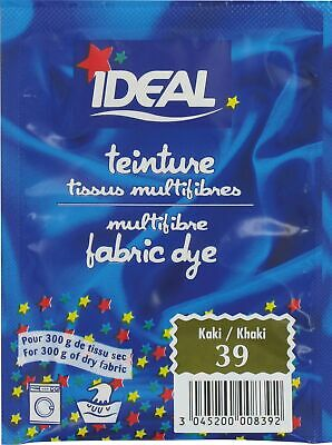 Teinture tissu main-machine Ideal - Sachet 15 g - Kaki n°39