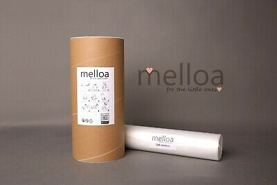 100m Melloa refill sacks foil for nappy bin with paper tube