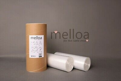 400m Melloa refill sacks foil for nappy bin with paper tube