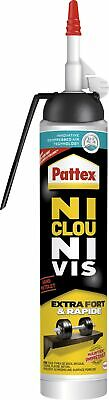 Colle ni clou ni vis Extra Fort & Rapide Pattex - MSP 266 g