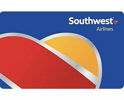 Southwest Airlines Gift Card $150. (digital, email delivery)