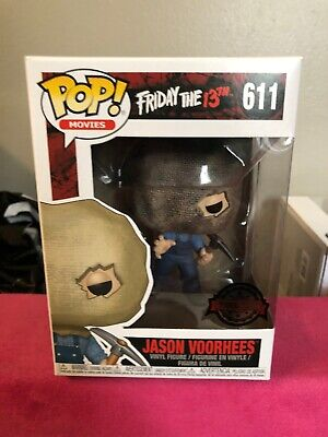 Funko Pop! Friday the 13th Jason Voorhees #611 Bag Mask (Walgreens Exclusive)