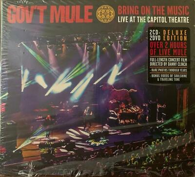 GOV'T MULE Bring On The Music Live at The Capitol Theatre 2CD 2DVD DELUXE SET