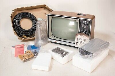 NEW IN BOX 1980 Zenith Video Sentinel System Television Camera Surveillance NOS!