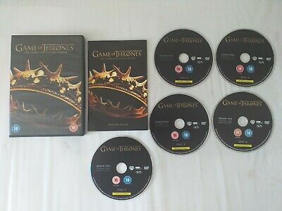 Game Of Thrones The Complete Second Season Dvd Boxset Very Good Condition