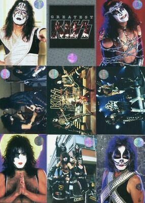 Cornerstone Kiss (9) Card Limited Edition Preview Set Sealed New From 1997