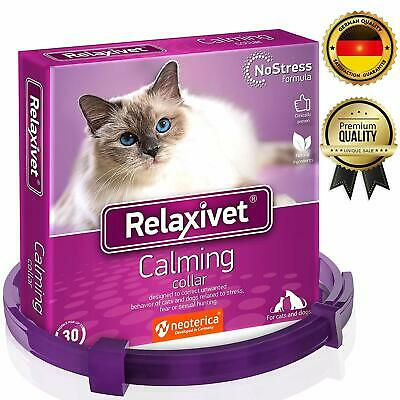 Relaxivet Calming Collar Cats Small Dogs Reduce Anxiety Pets Replacement Plug In