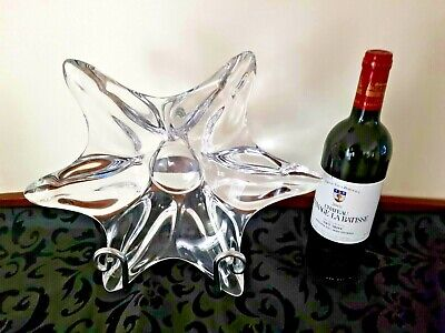 Vannes Crystal Large Centerpiece  Starfish Form .. Stunning