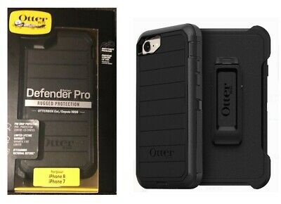 OtterBox Defender Pro Case with Belt Clip for Apple iPhone 7 iPhone 8 Black