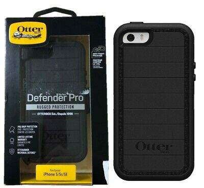 OtterBox Defender Pro Rugged Protection Case for Apple iPhone 5 5s SE Black OP
