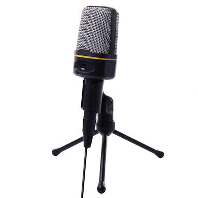 SF-920 Multimedia Condenser Microphone Studio for PC Plug and play Extravagant