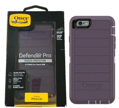 OtterBox Defender Pro Series Case For Apple iPhone 6 iPhone 6S Purple OP