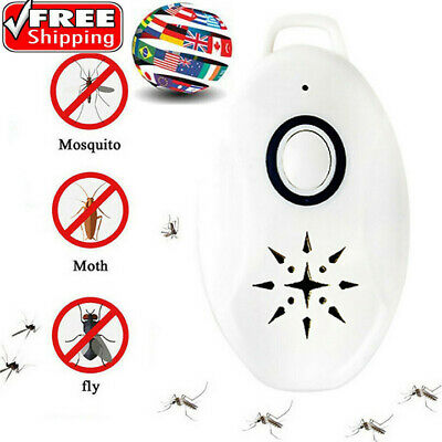 Electronic Ultrasonic Pest Bug Mosquito Cockroach Mouse Killer Repeller Newest