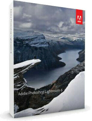 Adobe Photoshop Lightroom 6 Vollversion - Deutsche / Englisch Sprache