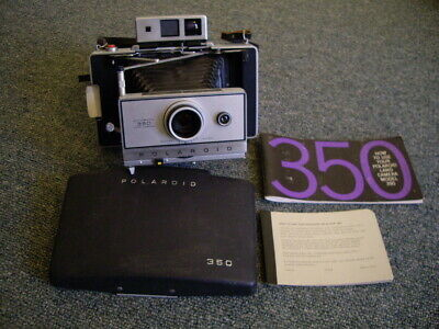 Vintage Polaroid Automatic 350 Land Camera.