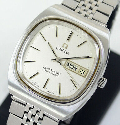 Vintage Omega Seamaster Automatic Cal1020 Day&Date Silver Dial Men's Watch