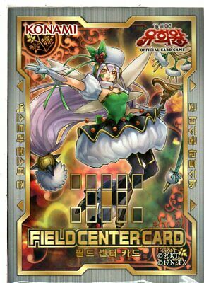 "Yu-Gi-Oh Field Center Card ""Trickstar Corobane""  / Korean"
