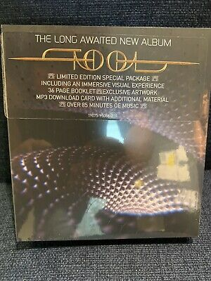 """TOOL Fear Inoculum DELUXE Limited Edition CD 4"""" HD Screen - IN HAND"""