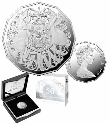 2019 50th Anniversary of the Dodecagonal 50c Proof ANDA Exclusive