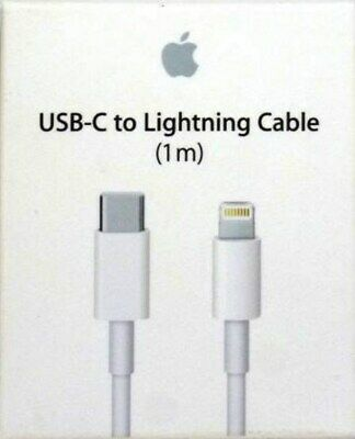 Genuine Oem Apple Usb-C To Lightning Charging Cable A1703 (1 Meter) Mqgj2Am/a