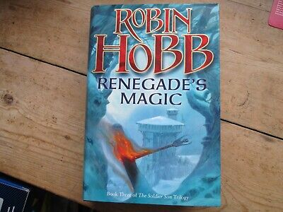 Robin Hobb - Renegades Magic Book Three Of The Soldier Trilogy New Old Stock