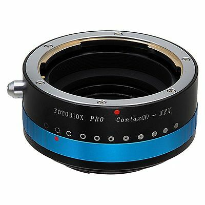 Fotodiox Lens Adapter Pro Contax N Lens to Sony Alpha E-Mount Camera with Iris