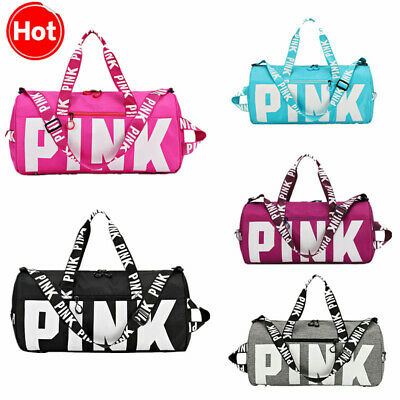 Canvas Duffle Bag Yoga Holiday Gym Travel Weekend Top Women Travelling Nylon Bag
