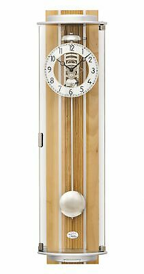 Regulator wall clock, 8 day running time from AMS AM R2715/18 NEW