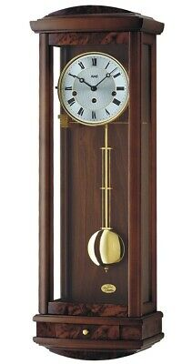 Regulator wall clock, 8 day running time from AMS AM R2607/1 NEW