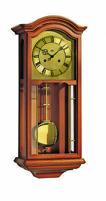 Regulator wall clock, 14 day running time from AMS AM R651/9 NEW