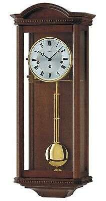 Regulator wall clock, 8 day running time from AMS AM R2663/1 NEW