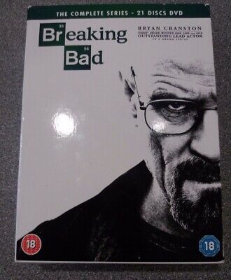Breaking Bad: The Complete Series DVD - Preowned - Fast Dispatch