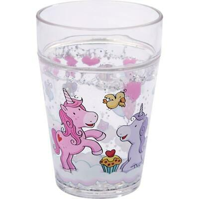 Haba Glitzerbecher Trinkbecher Kinderbecher Einhorn