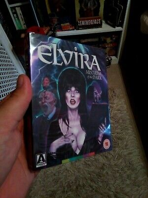 ELVIRA MISTRESS OF THE DARK BLU-RAY - w/ Slipcover - Arrow Video 1ST EDITION!?