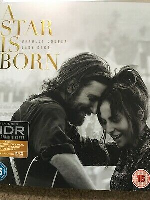 A Star Is Born Blu Ray and Digital Download as new
