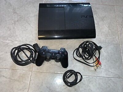 Console PlayStation 3 Super Slim 12 GB + accessori PS3 in regalo