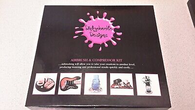 Cake decorating airbrush kit.Used twice for cake decorating only.UK only.