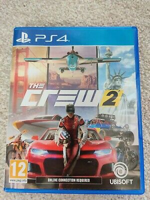 The Crew 2. PS4 playstation 4. Racing game. great condition