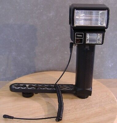 Unomat P300TCT Twin flash with sync-cord and support bracket