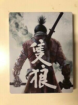 Sekiro: Shadows Die Twice (XBOX ONE) Steelbook Case & Game (BRAND NEW AND SEALED