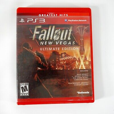 Fallout - New Vegas - Ultimate Edition (Sony PlayStation 3, 2012) PS3 No Booklet