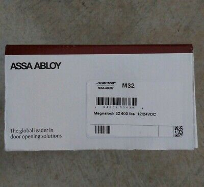 Securitron ASSA ABLOY Magnalock M32 600 lbs. Holding Force