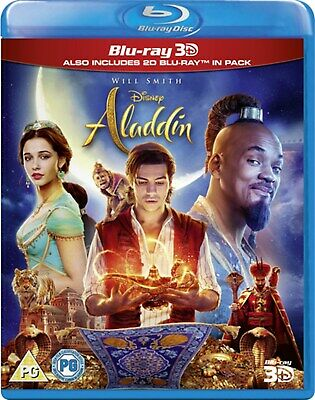Aladdin (3D Edition with 2D Edition) [Blu-ray] RELEASED 23/09/2019