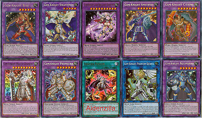 Yugioh Gem-Knight Deck - Seraphinite Absorb Fusion Sapphire Diamond Garnet